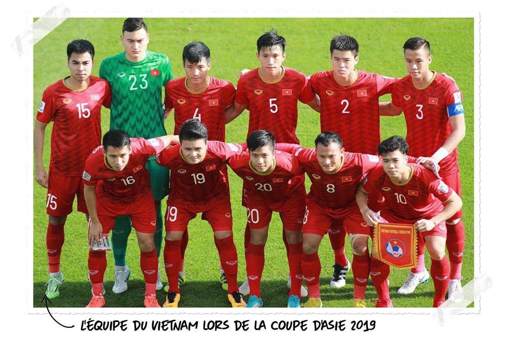 Le football au Vietnam : l'équipe nationale