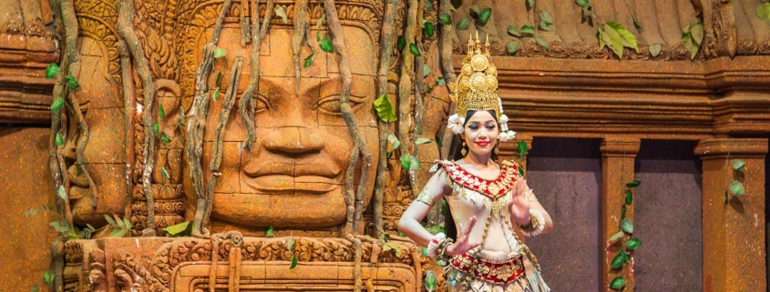 La danse Apsara du Cambodge