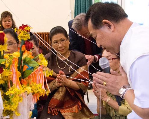 La cérémonie du Baci au Laos