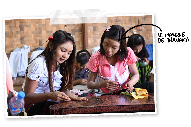 Les origines du Thanaka birman