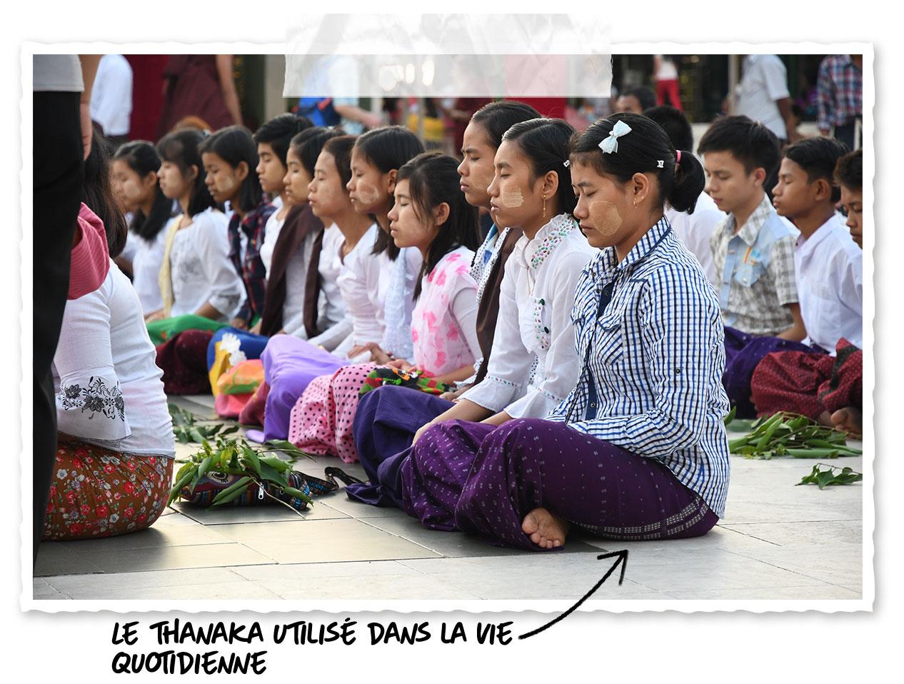 Où trouver du thanaka en Birmanie ?