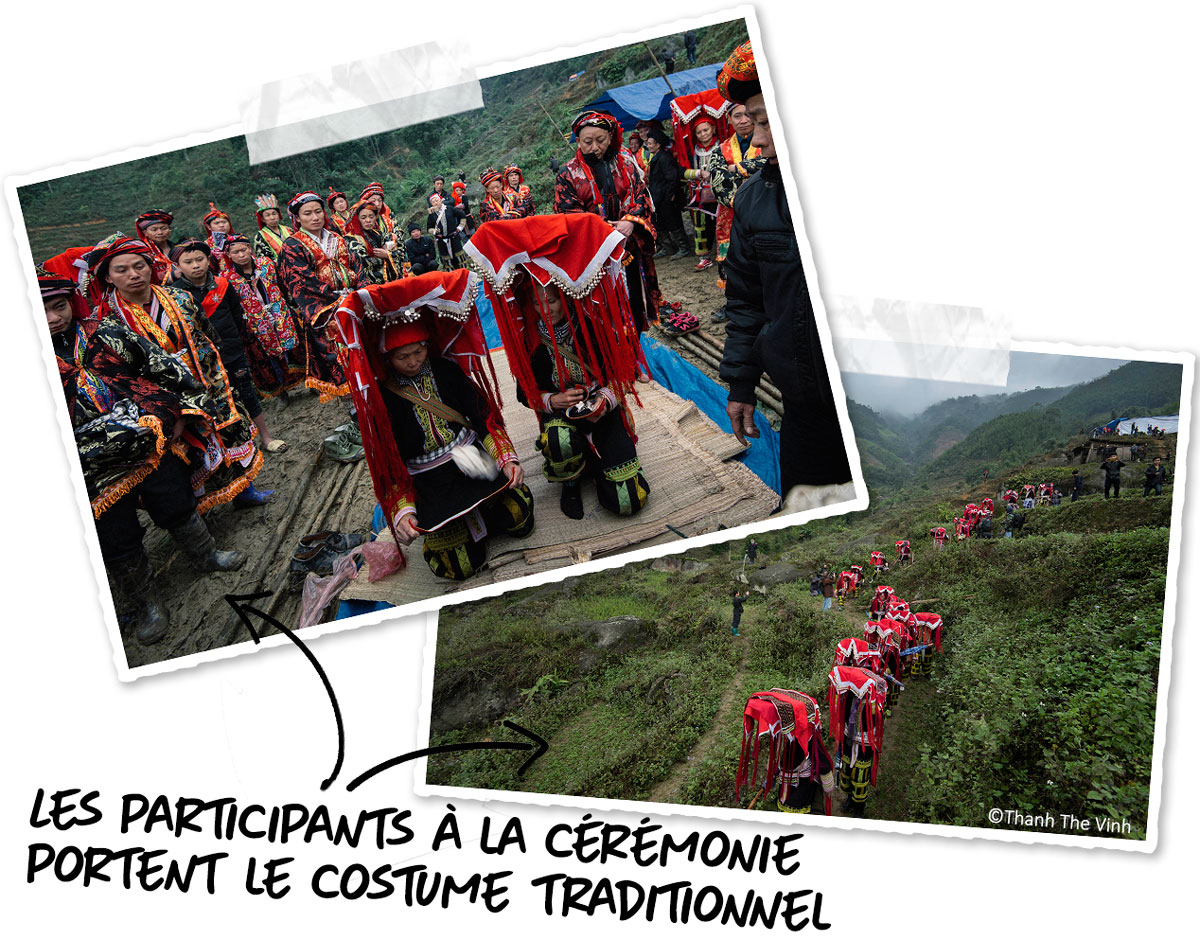 Les costumes traditionnels Dao