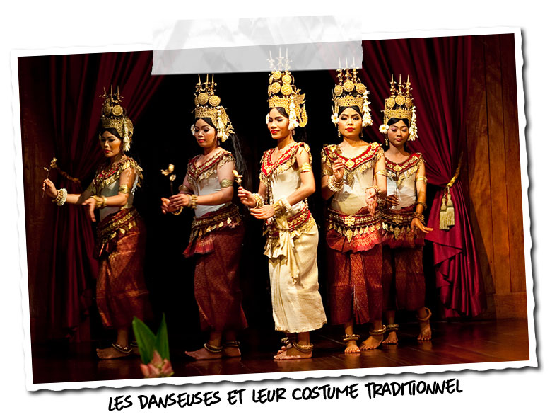 Danseuses Apsara au Cambodge