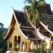 Le temple de Vat Mai, l'une des activité phare de Luang Prabang