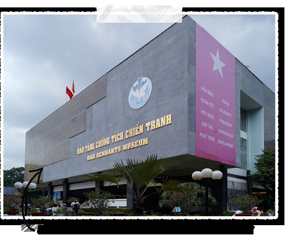 Le musée des vestiges de guerre au Vietnam