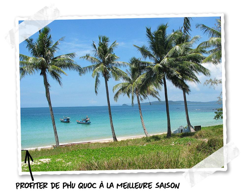 La meilleure saison pour voyager à Phu Quoc