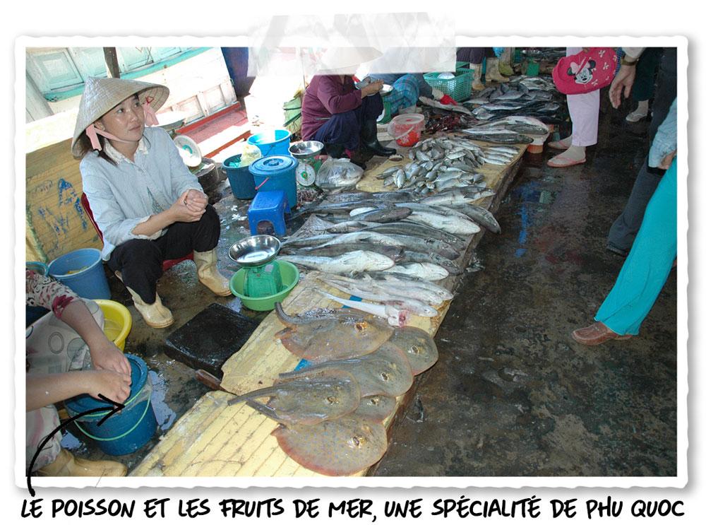 Le marché aux poissons de Phu Quoc