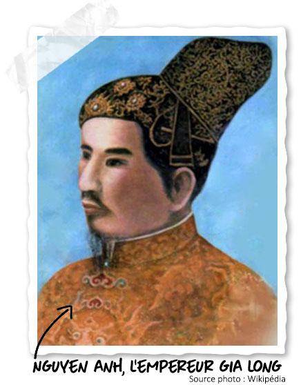 L'Empereur Gia Long qui s'est réfugié à Phu Quoc
