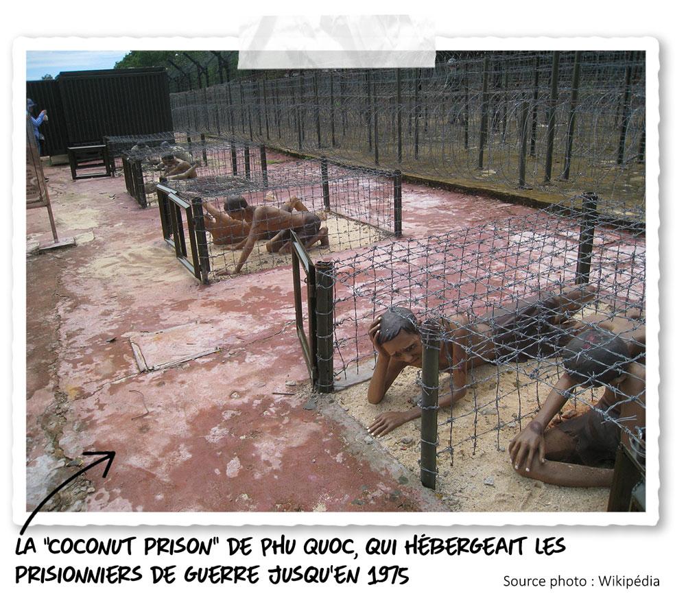 La prison de l'île de Phu Quoc