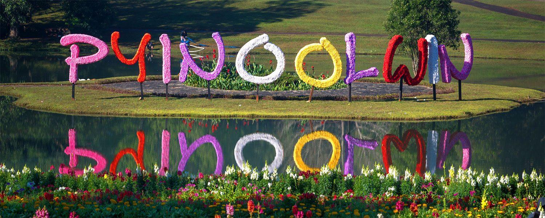 La ville aux fleurs de Pyin Oo Lwin