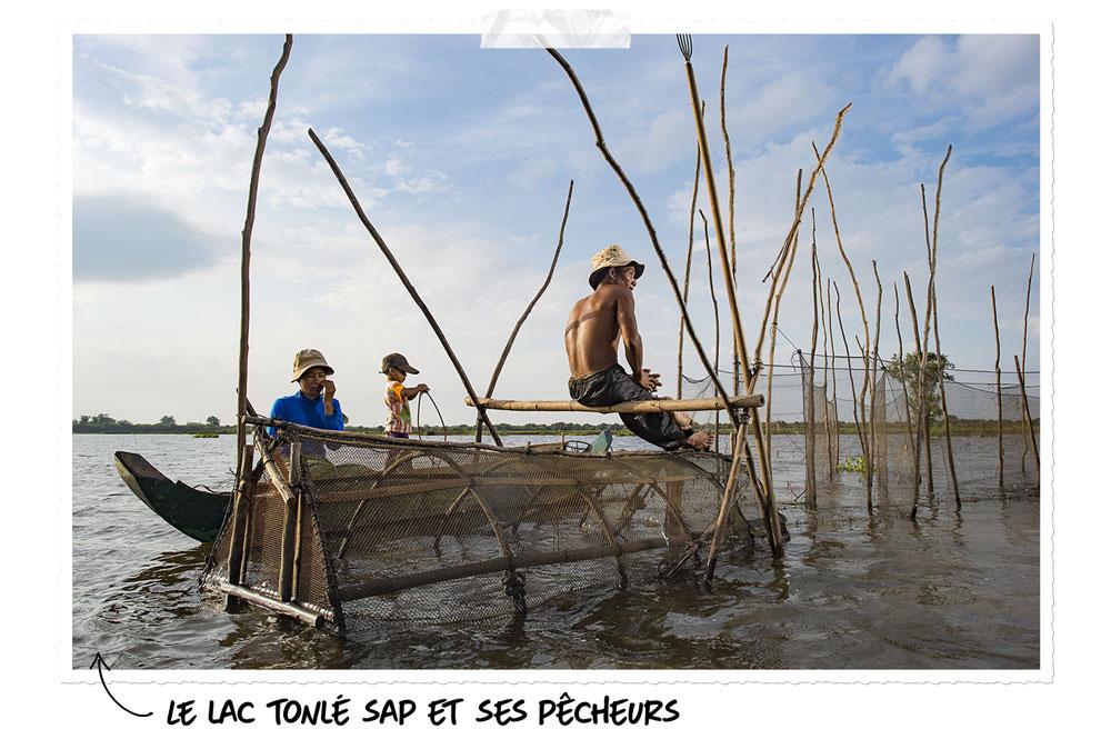 Le lac d'Asie : Tonlé Sap