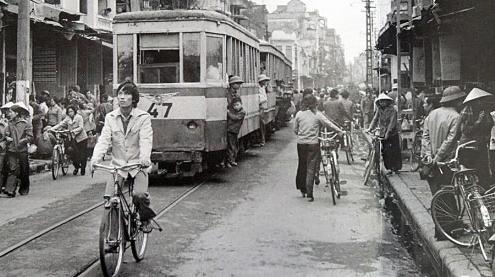 Le tramway électrique de Hanoi