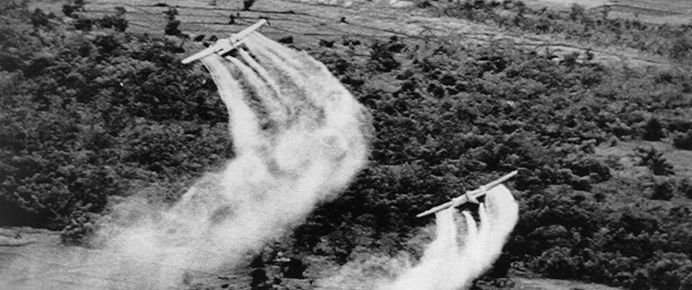 L'épandage de l'agent orange au Vietnam