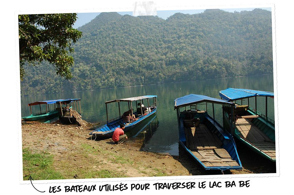 Le lac Ba Be, l'un desplus beaux lacs d'Asie