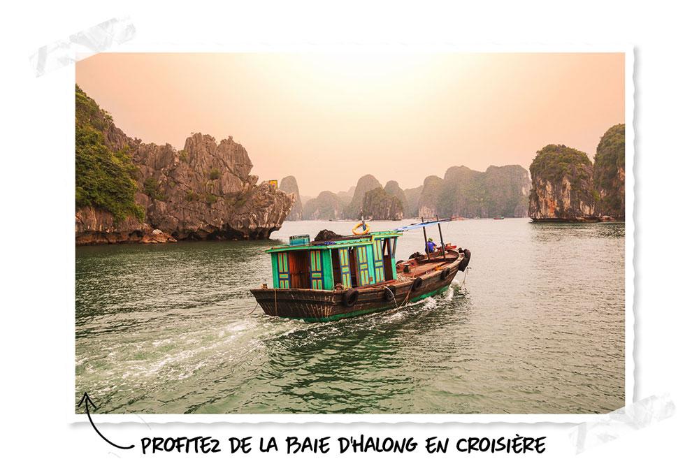 Voyages de noces : Baie d'Halong