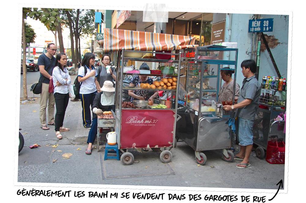 Banh mi 37 à Saigon