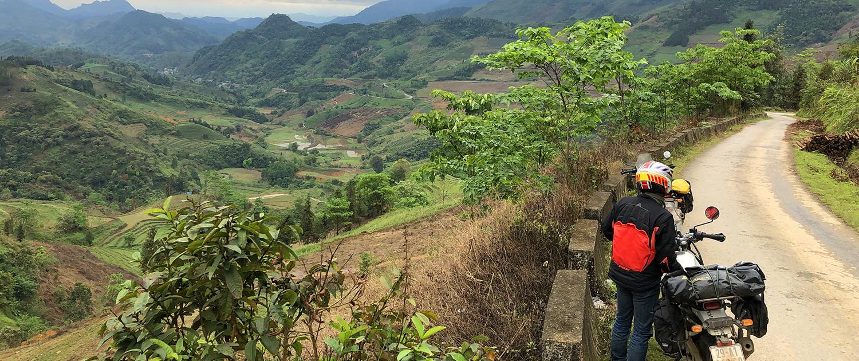 Le Vietnam à moto : 4 aventures au départ d'Hanoi