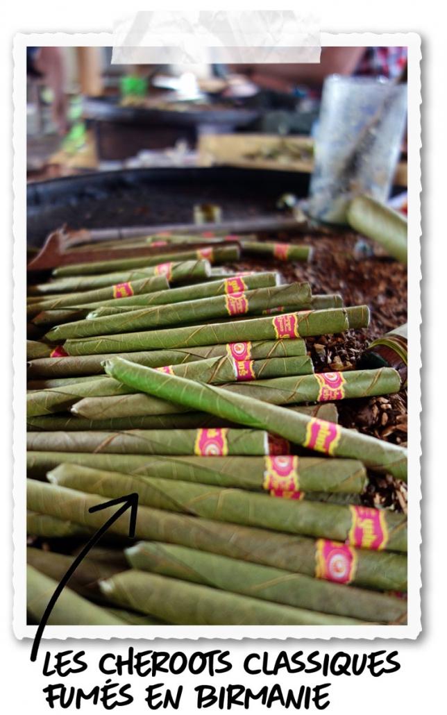 Le cigare birman