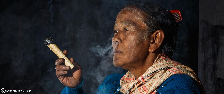 cheroot, le cigare birman