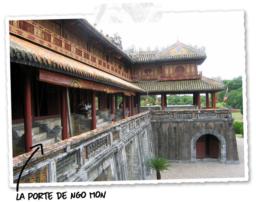 La porte Ngo Mon de la cité impériale de Hué