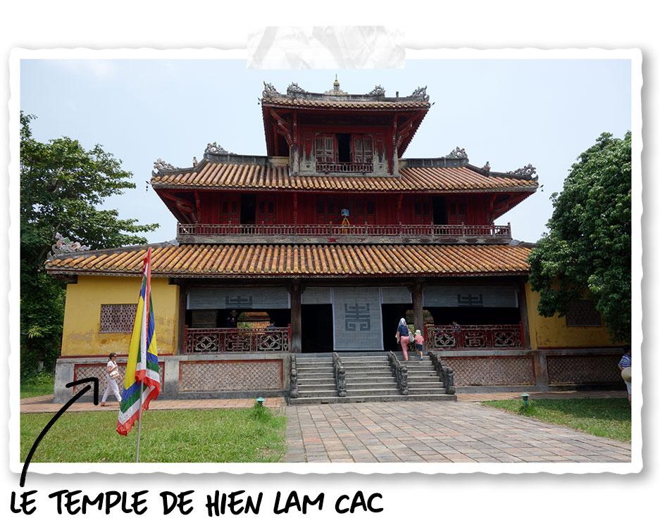 Le Hien Lam Cac dans la cité impériale de Hué