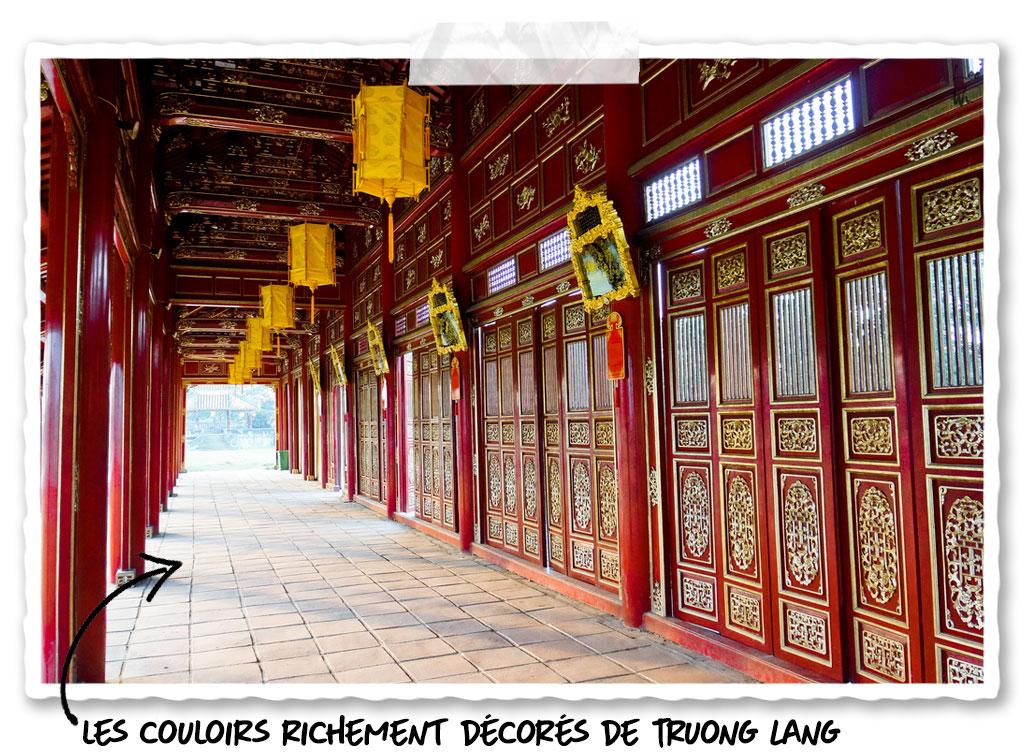 les couloirs de Truong Lang