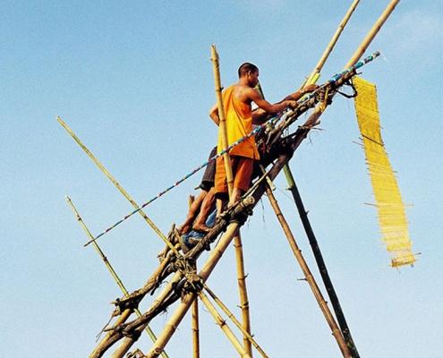 Le festival des fusées au Laos