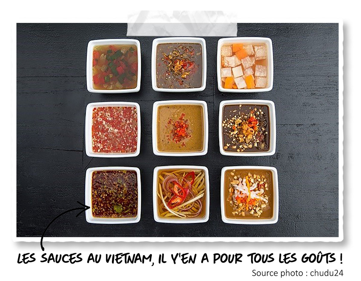 Les sauces vietnamiennes