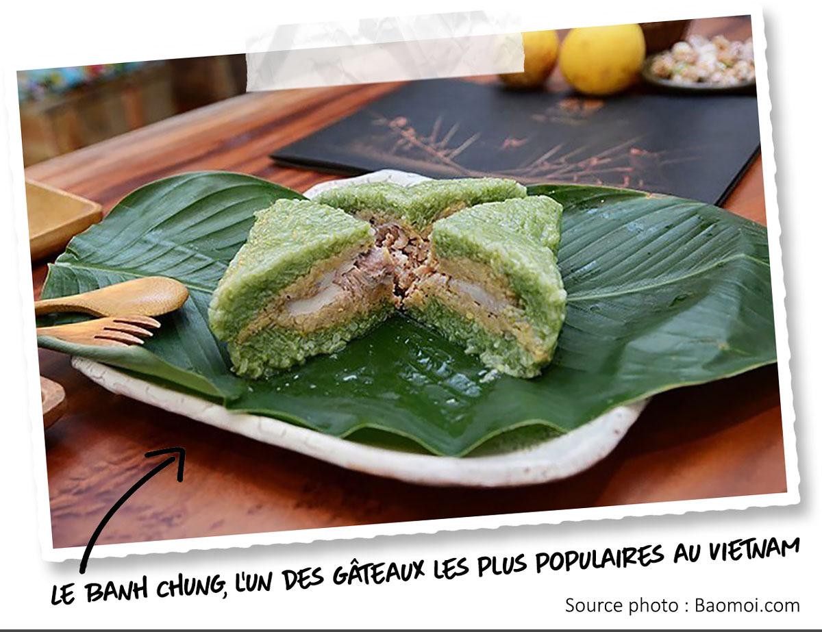 La gastronomie vietnamienne - Banh chung