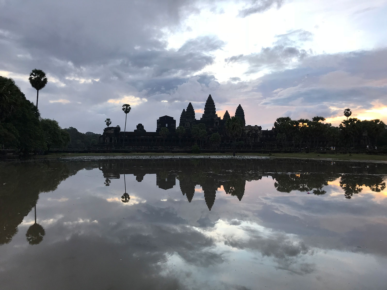 Gwendoline au Cambodge