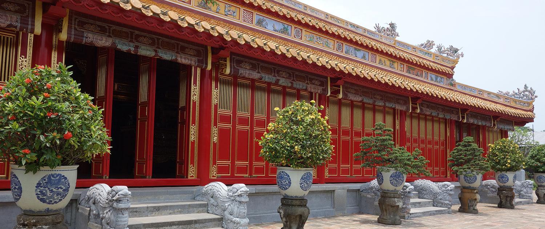 citadelle impériale de Hué