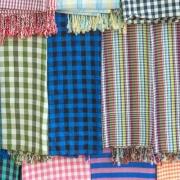 Le krama vendu au marché