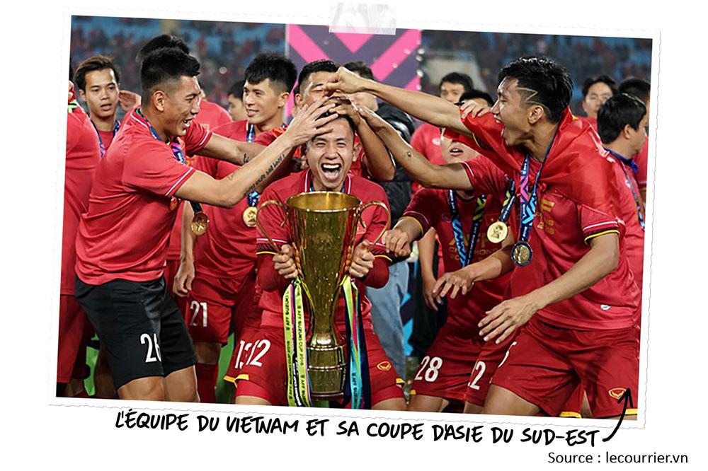 Le foot au Vietnam : champion d'Asie du Sud-Est