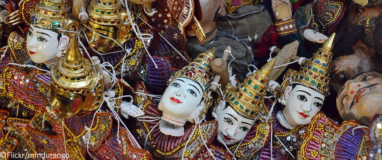 marionnettes birmanes