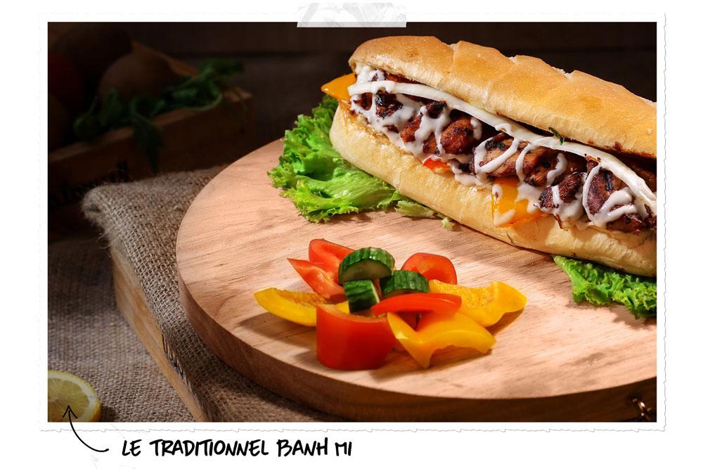 Banh Mi : le sandwich vietnamien