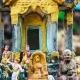 Maison des esprits au Laos, un rituel de l'animisme