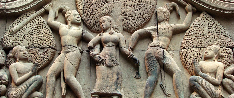 L'art de la sculpture khmère au Cambodge