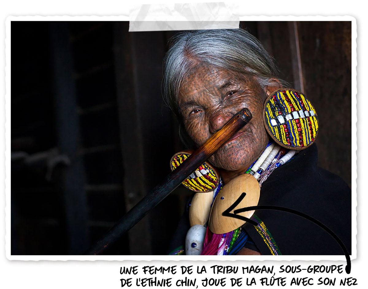 Femme de la tribu Magan