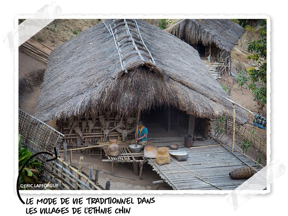 Le mode de vie dans les tribus birmanes