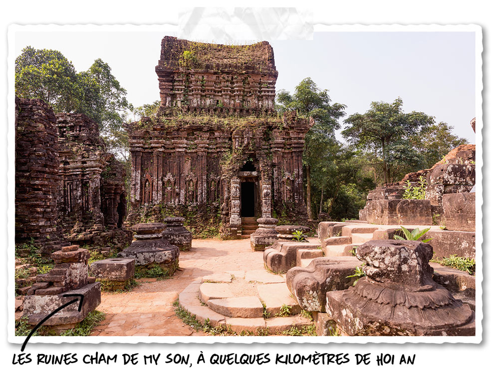 Le sanctuaire de My Son près de Hoi An