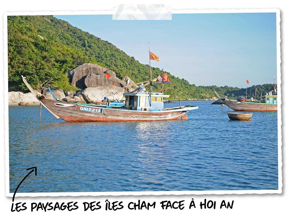 Les îles Cham face à Hoi An